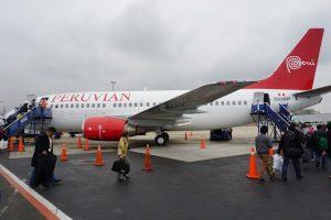 飛行紀錄  2016/7/9  LIM-AQP Peruvian Airlines P90235
