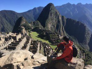 2016南美-31. 當陽光,照在馬丘比丘
