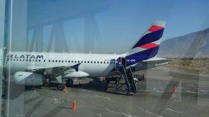 飛行紀錄 2016/7/17 AQP-CUZ LATAM airlines A319