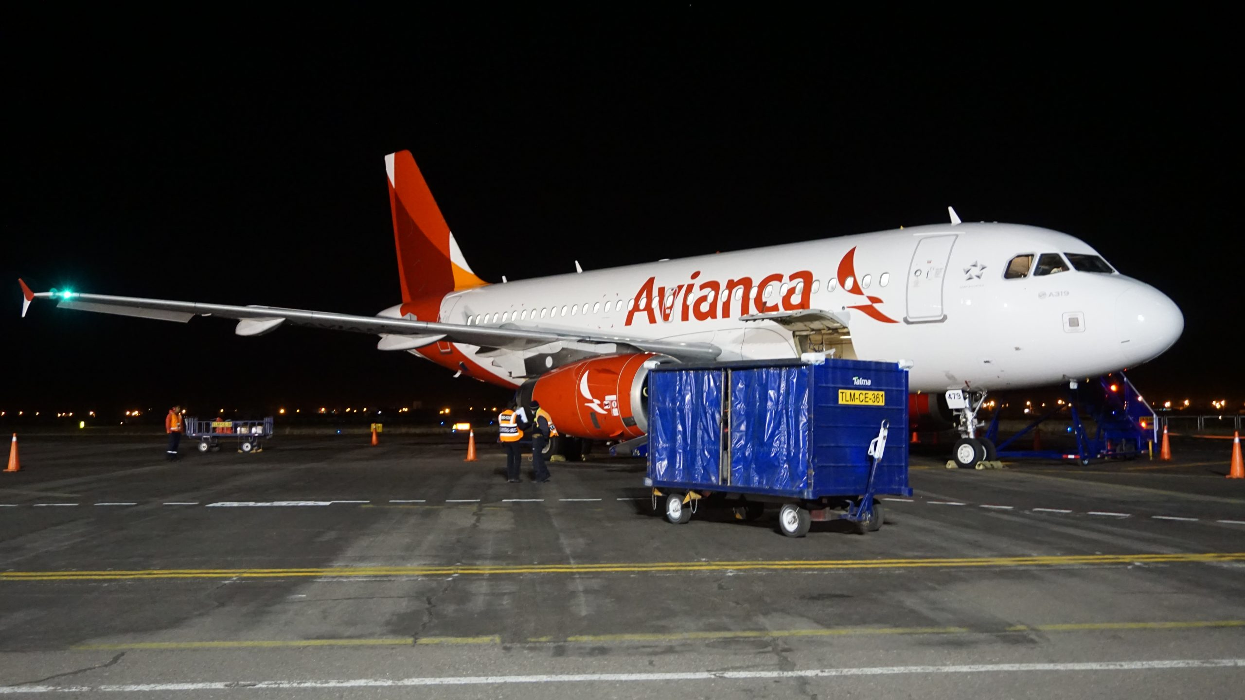 飛行紀錄 2016/7/30 JUL-LIM Avianca A319 Business Class商務艙