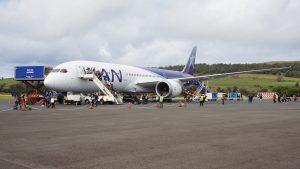 飛行紀錄 2016/8/7 SCL-IPC LATAM 787-9 商務艙 Business class