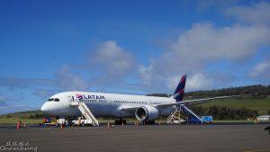 飛行紀錄 2016/8/13 IPC-SCL LATAM 787-9 商務艙 Business class