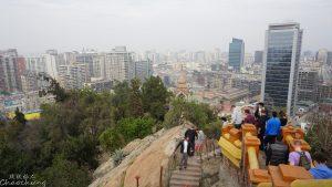 2016南美-79. 理想的都市生活,聖露西亞山丘的早晨